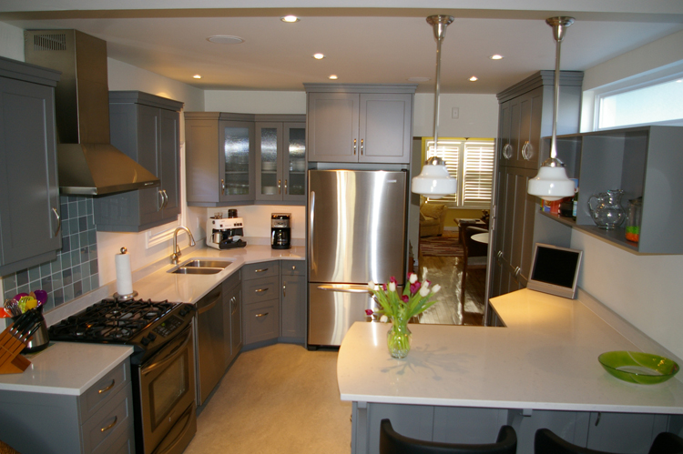 Ultra Chic Kitchen Charles Lantz Cabinetry Works In The City Country