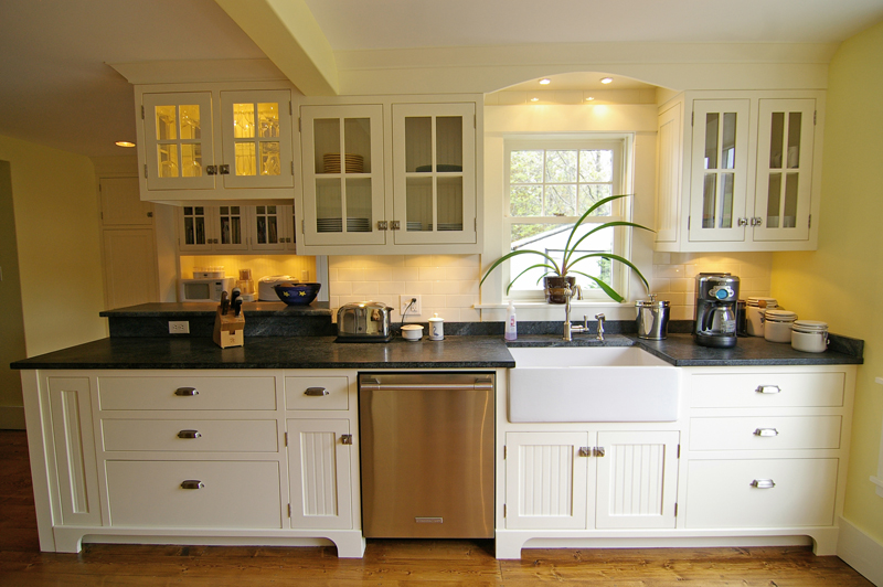fine built in custom kitchen then commercial cabinetry
