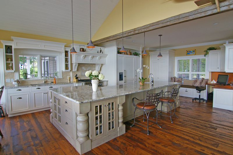 Custom Kitchen Cabinetry Very Big And Beautiful Also