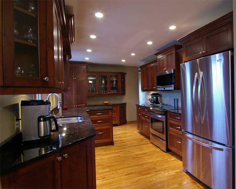 Google Image Result For Httpwwwcharleslantzcabinetry Fair Cherry Kitchen Design Inspiration Design