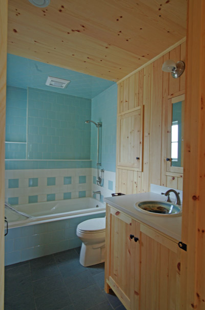 Nova Scotia Cottage By The Sea Houses Custom Pine Cabinetry Throughout
