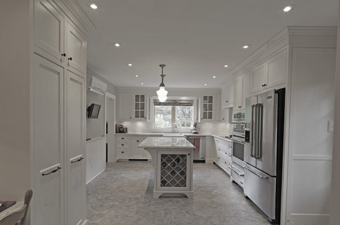 Beautiful White Kitchen Nova Scotia