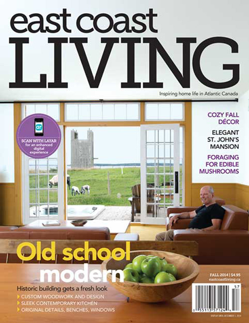 East Coast Living cover page