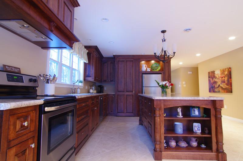 birch kitchen island