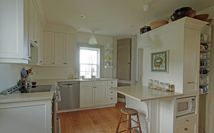Kitchen facelift in old house